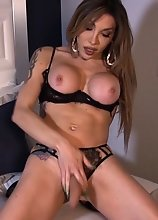 Yank your Cock Off while Eva Tease to Please You