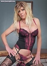 Joanna Jet - Relaxing at Home