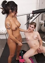 Dirty Foxxy having naughty fun with Tiffany Starr