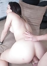 Pushed in Creampie Breeding